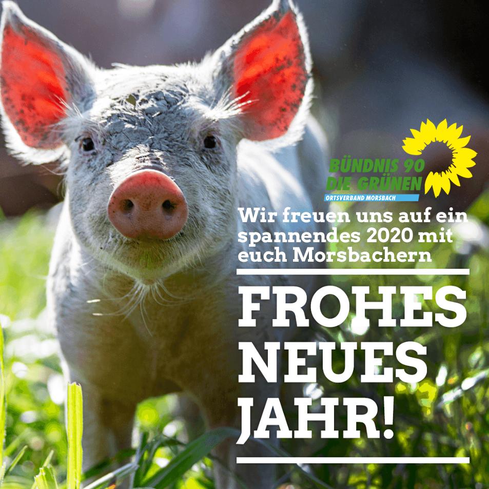 Frohes Neues - Wir freuen uns auf ein spannendes 2020 mit euch in Morsbach!